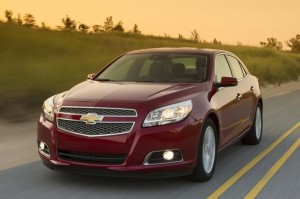 The 2013 Chevrolet Malibu is redesigned