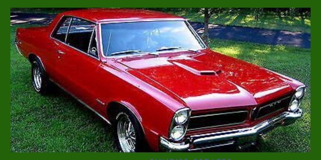 1965 PONTIAC GTO Pinxcars Lets Talk About Cars