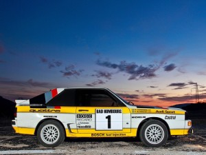 1985-86 Audi Sport quattro Group B Rally Car