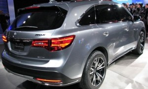 2014 Acura MDX prototype revealed at Detroit show