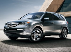 2012 Acura MDX is one of the Newest 7 Seater SUV