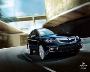 2012 Acura MDX front