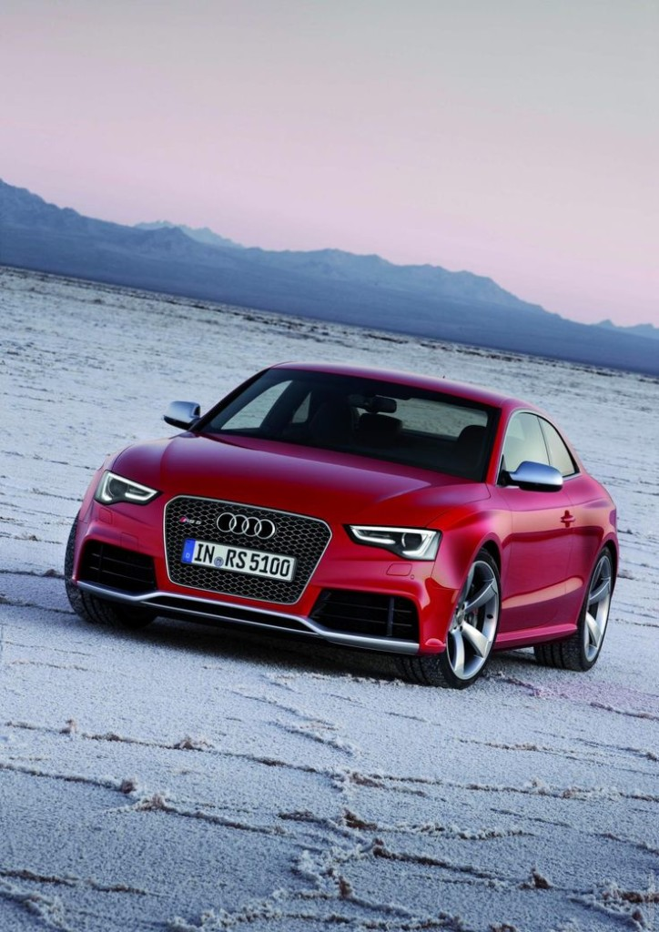 Red car 2012 Audi RS5
