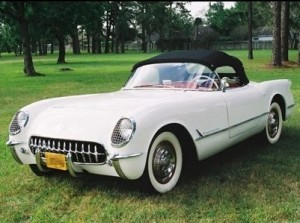 Today in 1953, the Cheverolet Corvette prototype was unveiled to the public at General Motors' Motorama.