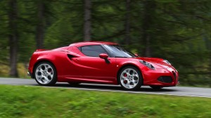 Fiat's new turbo-powered Alfa Romeo 4C sports car
