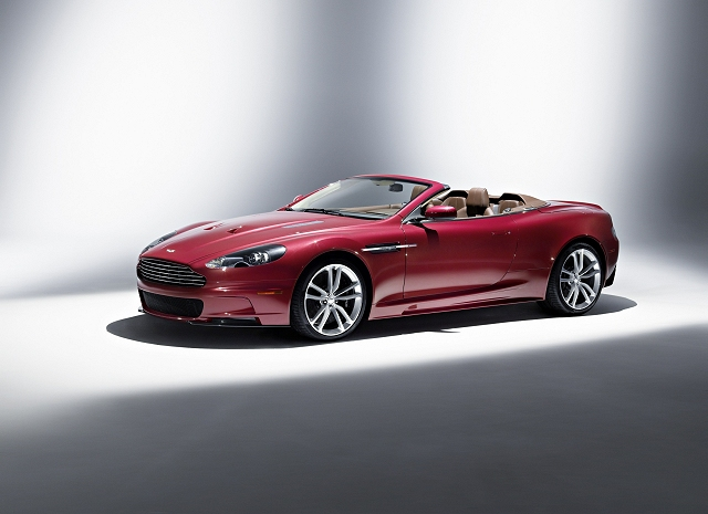 The new DBS Volante is the latest from Aston Martin  15