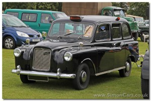 Austin FX4 sidelight – taxi model