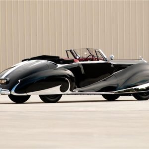 1947 Franay-Bentley Mark VI – I never noticed cars but this one even caught my attention.