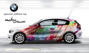 BMW car wrap by Metso & Maru