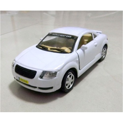 Audi Car Model/Kids Toy Scale 1:32 White Colored