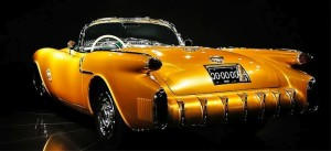 Harley Earl, the legendary automotive stylist, designed the F-88 under the belief that it would have outsold the Corvette and forever change the automotive history. Cheverolet, which produced more GM products than any of its other divisions, convinced the GM board of directors to cut the Oldsmobile project.