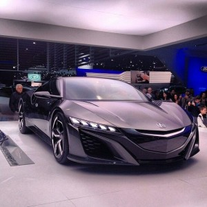 Sleek Acura NSX