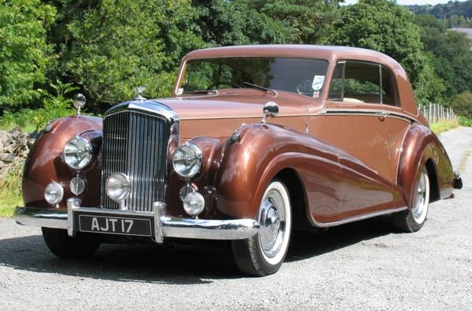 Main wedding car: My grandfather's (Leslie's) old 1950 Bentley Mk VI. Contact Graham Robinson in Brazil.