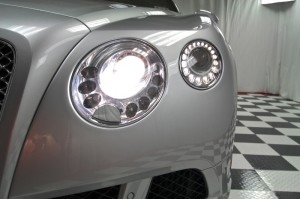Front lights of 2012 Bentley Continental GT