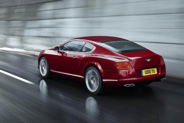 2012 Continental GT in red