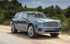 The new Bentley SUV will resemble the EXP 9 F concept car that was unveiled …