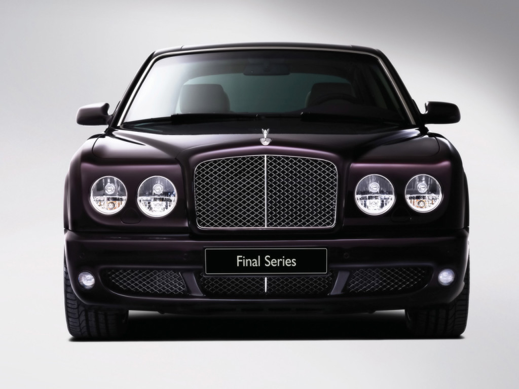 One of the most exclusive luxury cars, the Bentley Arnage …