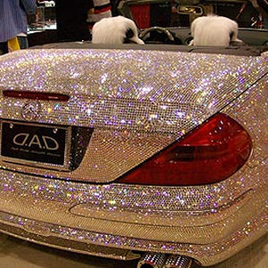 The bling-bling car