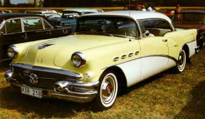 Buick Century 2-D riviera coupe – 1956