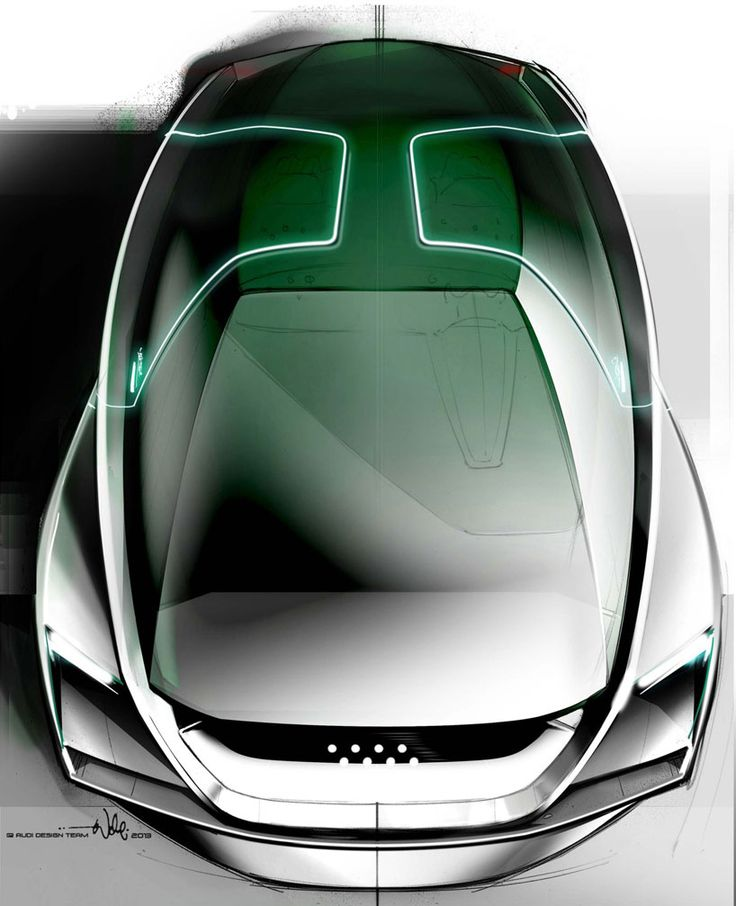AUDI designs science fiction car for the film 'ender's game'