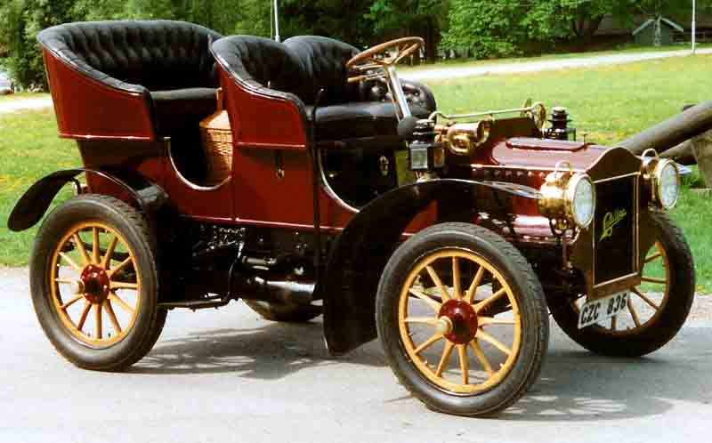 Cadillac Model E Four seater - 1905 8