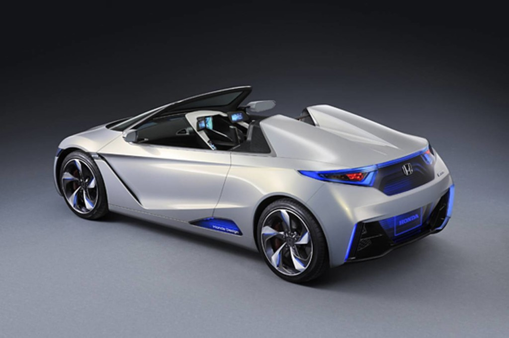 Honda unveils latest in electric sports cars