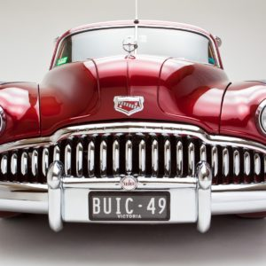 An awesome red Buick