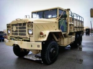 1986 AM General Corp M923 5-Ton 6×6 Cargo Truck- on Government Liquidation