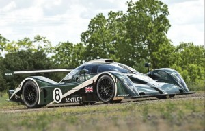 2001 Bentley Speed 8 Le Mans Prototype Racing Car