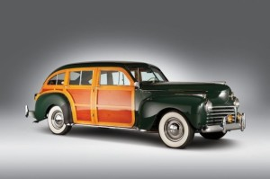 1941 Chrysler Windsor Town and Country Barrelback