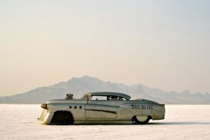 Bombshell Betty Buick At Bonneville