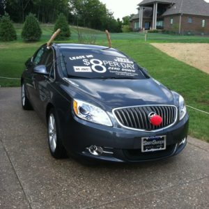 2012 Homerama Sam Swope car display #buick #samswopeauto #homerama