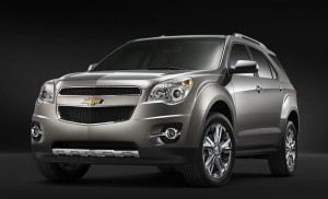 Cheverolet rolled out their latest car 2010 Chevy Equinox