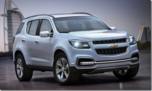 Chevrolet TrailBlazer concept show car