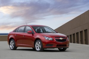 The 2011 Chevy Cruze is Chevy's latest car to help battle against the Ford …