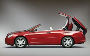 2008 Chrysler Sebring Convertible – Left side view