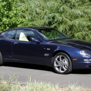 Maserati Coupe CC blue model – 2005