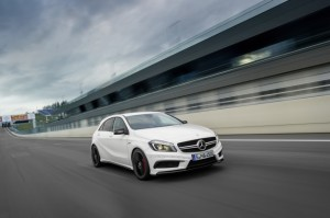 The 2014 Mercedes-Benz A45 AMG