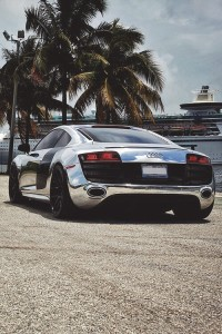 Chrome Audi-R8, killer looks