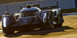 Audi R18 ultra Test Car