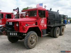 Am general brush truck