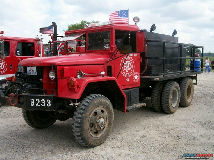 Am general brush truck 4