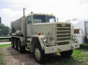 AM GENERAL 8X6 CONCRETE MIXER TRUCK