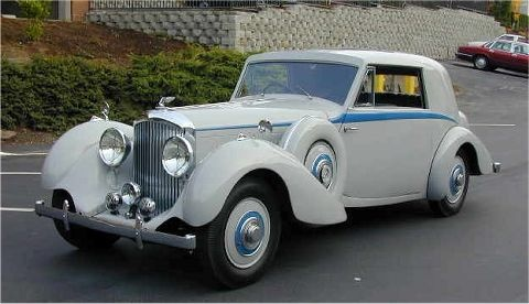 Bentley Derby 4.25 Litre (1937)