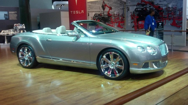 Bentley Continental GCX - only $212,900. This particular car was already sold - to an 89 year old man... 16
