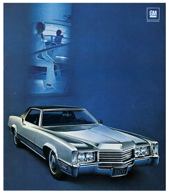 1970 Eldorado – art by Paul Malon