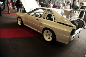 Audi sport quattro project built from a stock coupe