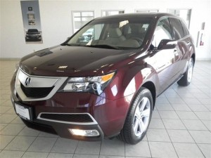 2013 Acura MDX Technology SUV 4 Doors