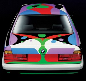 César Manrique, Art Car, 1990 -BMW 730i