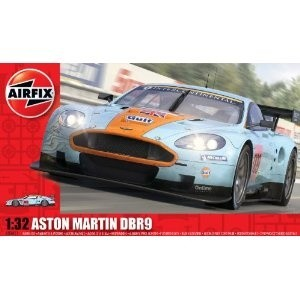 Aston Martin DBR9 Gulf Model Car.